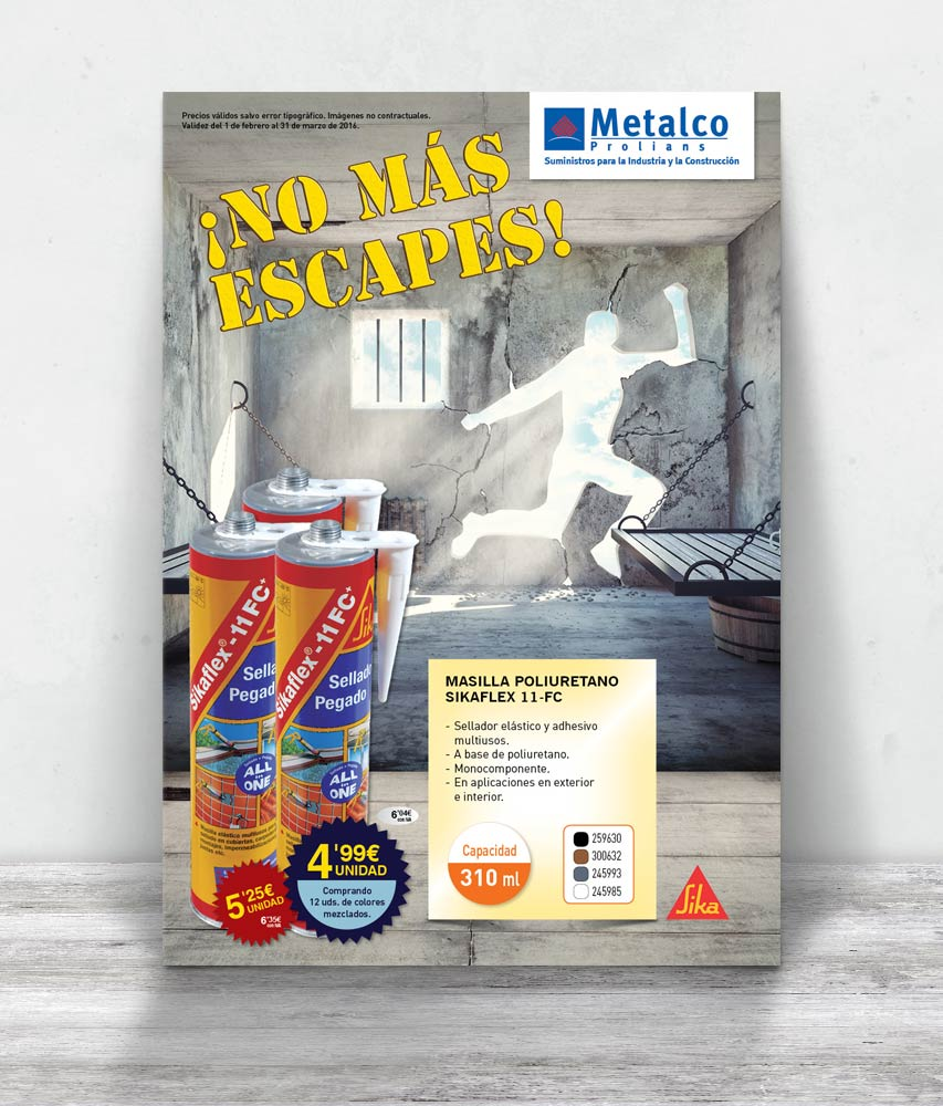 Metalco, folleto consumibles