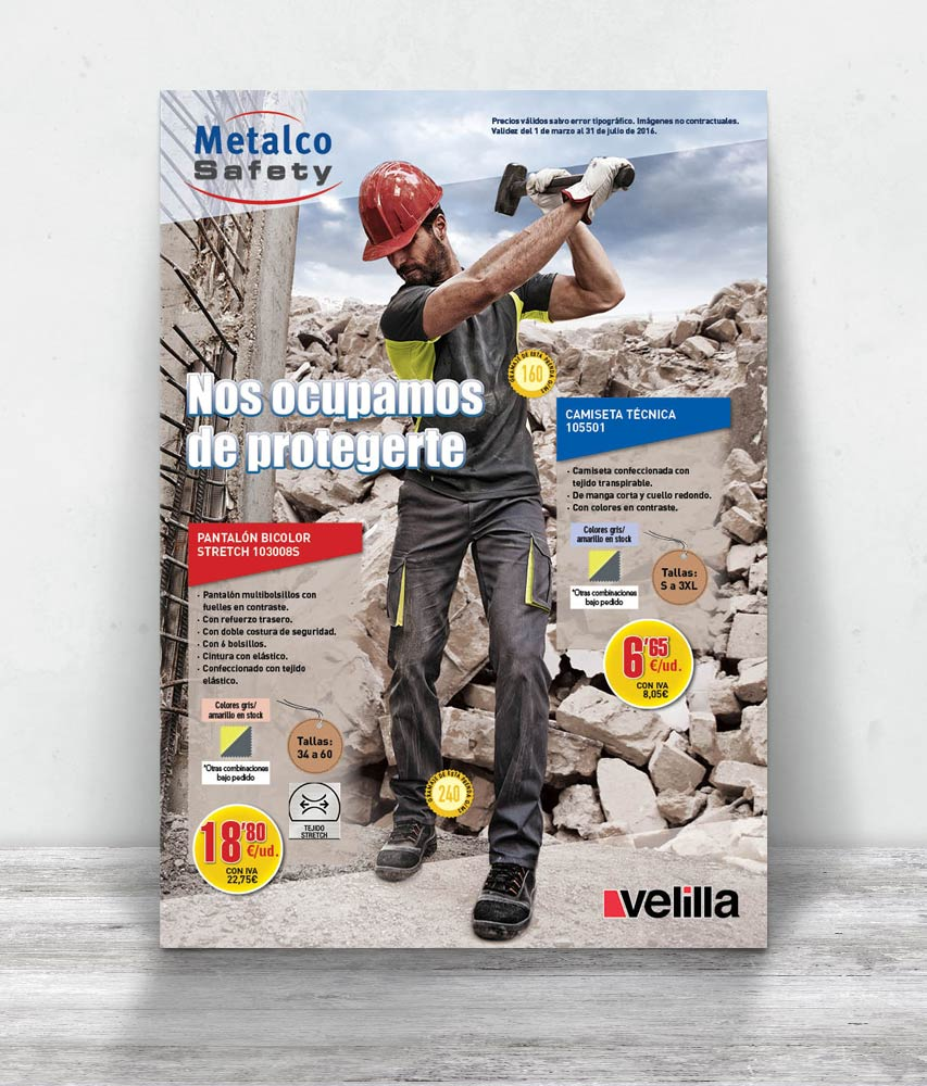 Metalco, folleto EPI verano